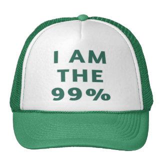 Soy el 99% gorros bordados