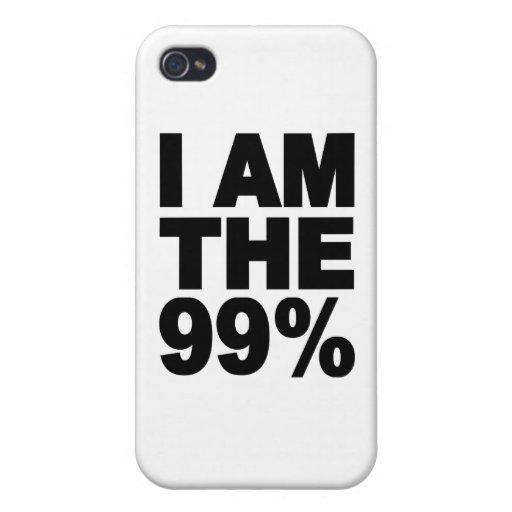 Soy el 99% (ocupe Wall Street) iPhone 4/4S Funda