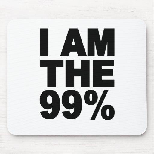 Soy el 99% (ocupe Wall Street) Tapete De Ratones