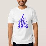 Soy el 99%, ocupo Wall Street. Remeras