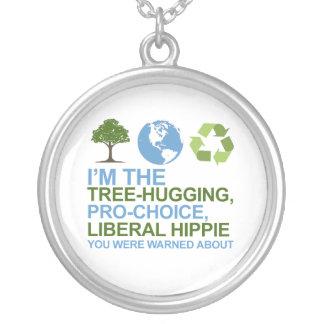Soy el árbol-abrazo hippie proabortista liberal colgantes