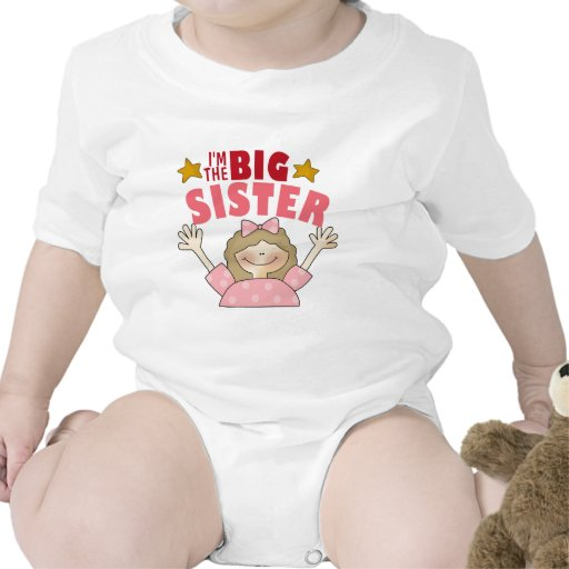 Soy el bebé de la hermana grande trajes de bebé