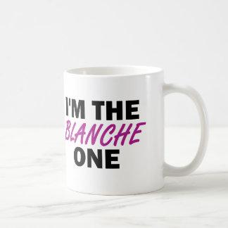 Soy el Blanche uno Taza Clásica