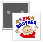 Soy el botón de hermano mayor pin