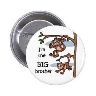 Soy el botón de hermano mayor pin redondo de 2 pulgadas