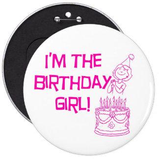 Soy el botón del chica del cumpleaños