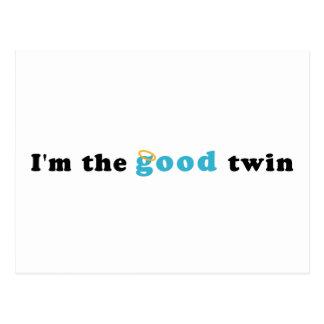Soy el buen gemelo postal