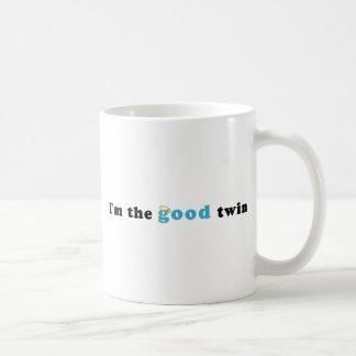 Soy el buen gemelo tazas de café