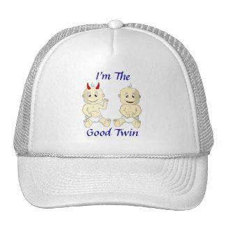 Soy el buen gorra gemelo