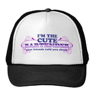 Soy el camarero lindo gorra