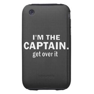 Soy el capitán. Consiga sobre él. - Canotaje Carcasa Though Para iPhone 3