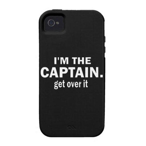 Soy el capitán. Consiga sobre él. - Canotaje diver iPhone 4 Funda