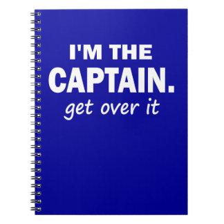 Soy el capitán. Consiga sobre él - divertido Libros De Apuntes