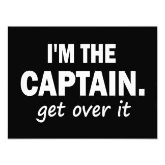 Soy el capitán. Consiga sobre él - divertido Fotografias