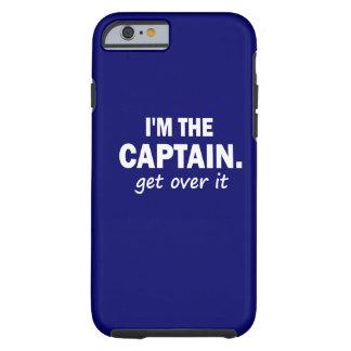 Soy el capitán. Consiga sobre él - divertido Funda De iPhone 6 Tough