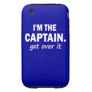 Soy el capitán. Consiga sobre él - divertido iPhone 3 Tough Carcasa