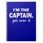 Soy el capitán. Consiga sobre él - divertido Libro De Apuntes Con Espiral