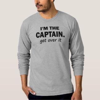 Soy el capitán. Consiga sobre él - divertido Polera