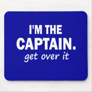 Soy el capitán. Consiga sobre él - divertido Tapetes De Ratones