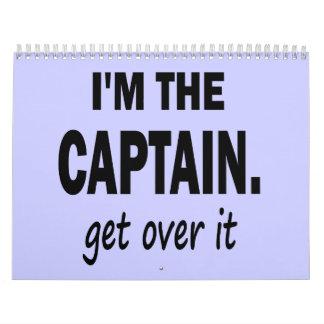 Soy el capitán. Consiga sobre él - divertido Calendarios