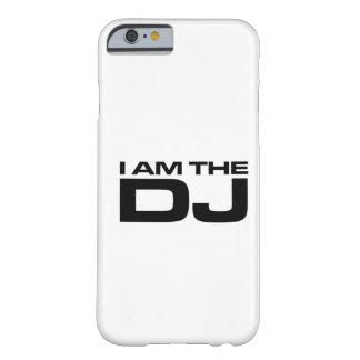 Soy el caso del iPhone 6 de DJ Funda De iPhone 6 Barely There