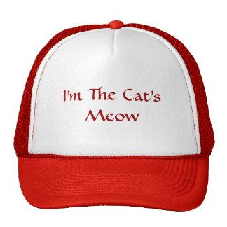 Soy el casquillo del maullido del gato gorra