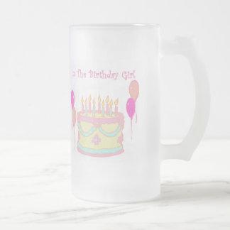 Soy el chica del cumpleaños tazas de café