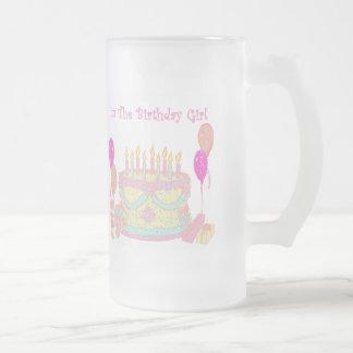 Soy el chica del cumpleaños taza
