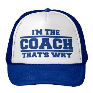 Soy El COCHE que es porqué gorra (el azul real)