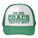 Soy El COCHE que es porqué gorra (el verde)