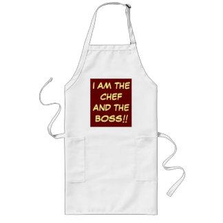 """""""Soy el cocinero y Boss"""" que cocina delantales"""