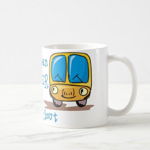 Soy el conductor del autobús malo taza