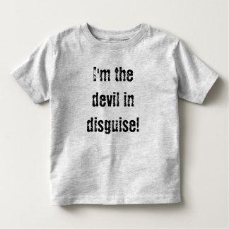 ¡Soy el diablo en disfraz! Polera