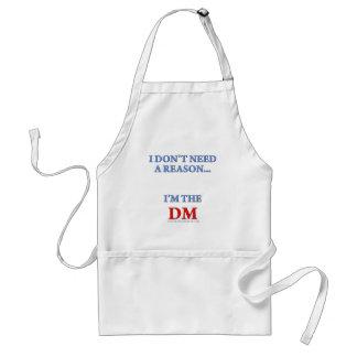 Soy el DM Delantales