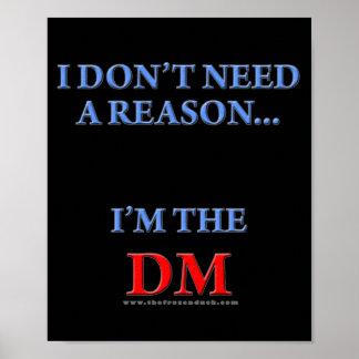 Soy el DM Póster