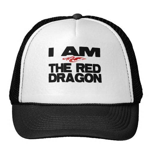 Soy el dragón rojo gorra