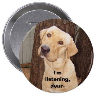 Soy el escuchar, querido pins
