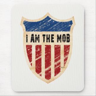 Soy el escudo de la multitud tapetes de ratones