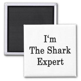 Soy el experto del tiburón imán de frigorífico