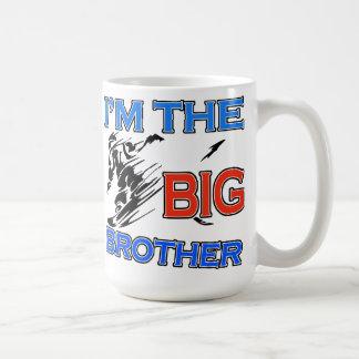 Soy el fútbol de hermano mayor taza
