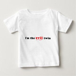 Soy el gemelo del mal tshirts