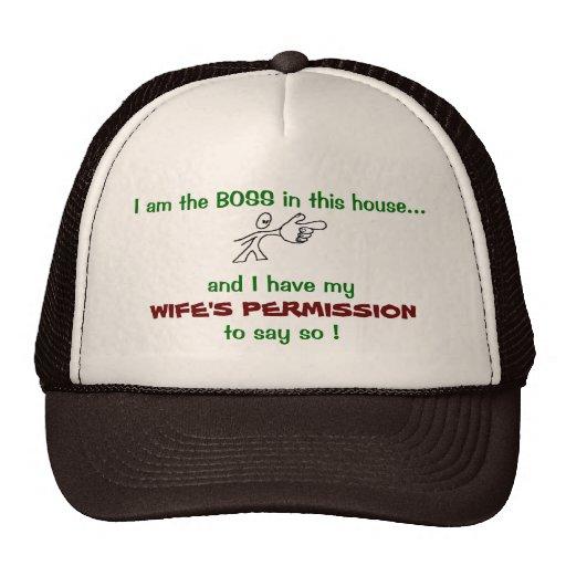 Soy el gorra de Boss