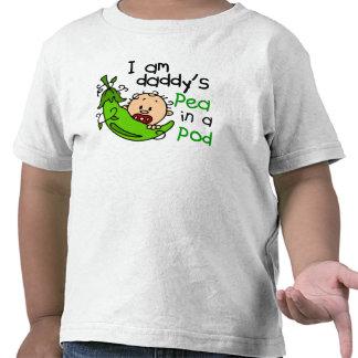Soy el guisante del papá en una vaina 1 camisetas