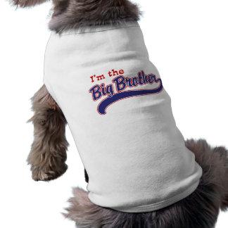 Soy el hermano mayor camisetas de perro