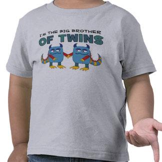 Soy el hermano mayor de gemelos camisetas