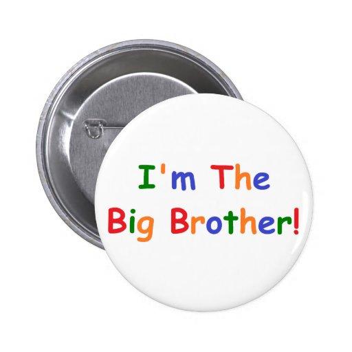 Soy el hermano mayor pin redondo 5 cm