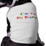 Soy el hermano mayor ropa perro