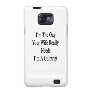 Soy el individuo sus necesidades de la esposa galaxy SII fundas