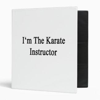 Soy el instructor del karate