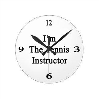 Soy el instructor del tenis relojes